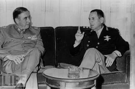 Perón y Pinochet Mayo de 1974