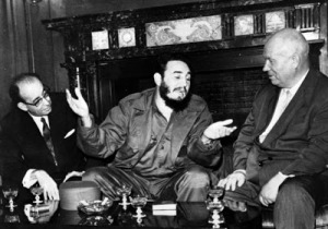fidel y nikita jruchov