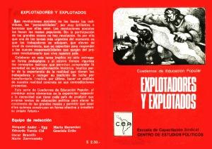 """""""Cuadernos de Educación Popular"""" - serie de breves libros de formación escritos por Marta Harnecker - publicados durante el gobierno de Unidad Popular en Chile - año 1979  - Interesantes para la formación - en los mensajes: artículo sobre Marta Harnecker Tapas-lbro-nc2ba1"""