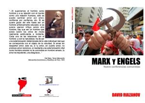 Marx y Engels (nueve conferencias comunistas) - David Riazanov - colección Socialismo y Libertad - formato pdf  Libro-12