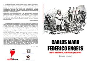 Carlos Marx y Federico Engels. Selección de textos históricos, filosóficos y políticos - colección Socialismo y Libertad - formato pdf 19-marxy-engels