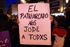 Pancarta Patriarcado