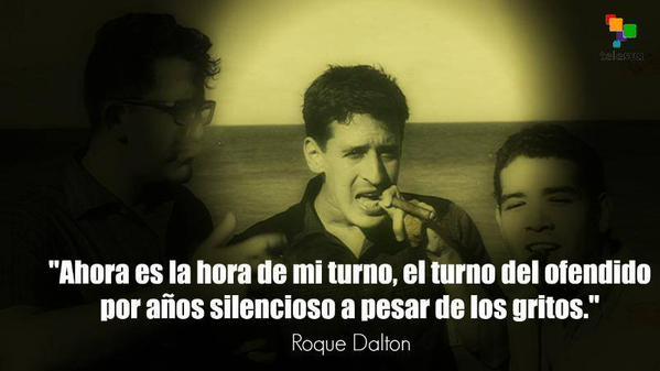 A 40 años del asesinato de Roque Dalton: Érase un hombre a su pluma y fusil atado - artículo de Pablo Jofre Leal Roque