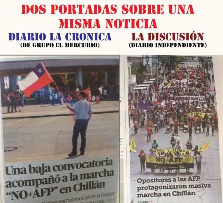 Diarios CHilenos