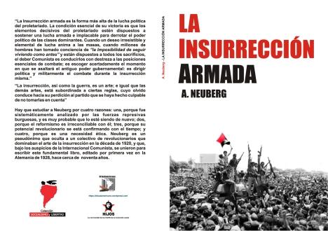"""""""La insurrección armada"""" - libro de A. Neuberg - año 1928 - edición de 1972 - artículo relacionado en los mensajes - Muy Interesante Libro-103"""
