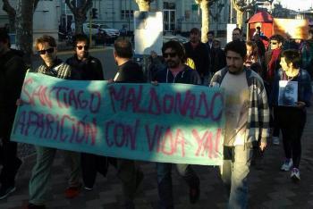 santiago Maldonado Marcha