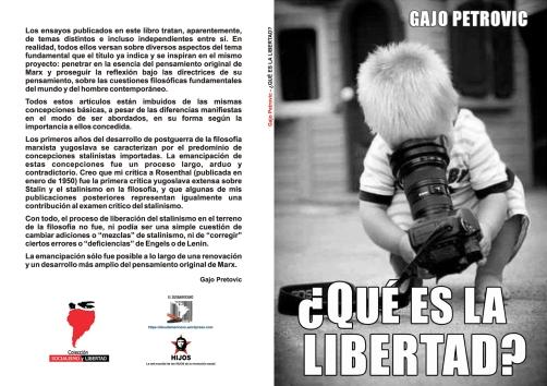 ¿Qué es la Libertad? - libro de Gajo Petrovic (colaboración de Milán Krangrga) - formato pdf Libro-113