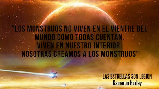 Las estrellas son legión - novela de ciencia ficción de de Kameron Hurley - epub y pdf Estrellas