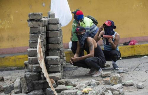 Tranques-Guarimbas Nicaragua 2018
