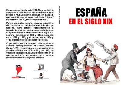 España. Las Revoluciones del siglo XIX - artículos de Carlos Marx - Colección Socialismo y Libertad - formato pdf Libro-132