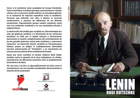 Lenin. Sobre sus propios pies - Rudi Dutschke - año 1974 - colección Socialismo y Libertad - formato pdf LIBRO.146
