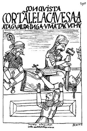 3.muerte de atahualpa inca
