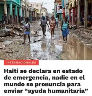 Haiti Ayuda Humanitaria
