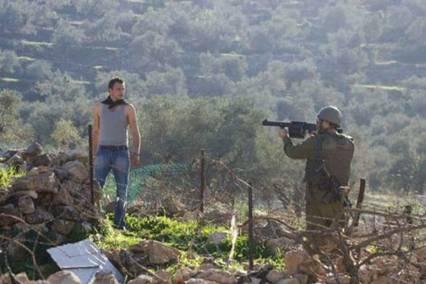 Palestina.Soldado Israel