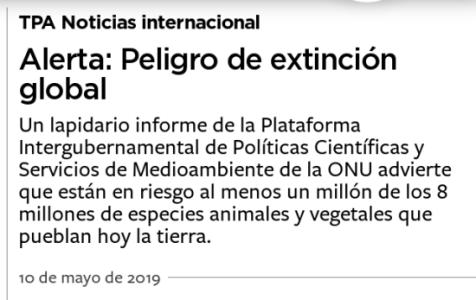 Extinción Global