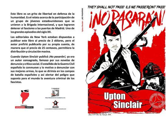No pasarán. Una historia de la batalla de Madrid - novela de Sinclair Upton - año 1937 - formato pdf Libro.158