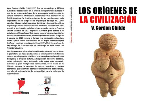 Los orígenes de la civilización - Vere Gordon Childe - publicado en 1936 - varios formatos Libro.172