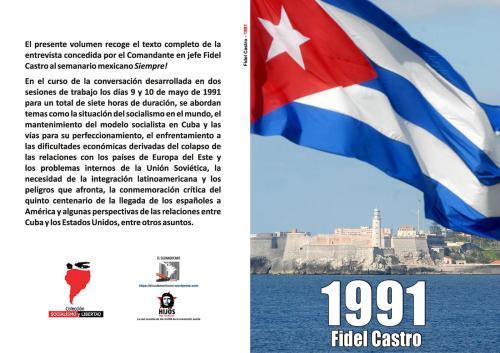 CUBA 1991 – Entrevista con el Comandante Fidel Castro Ruz - semanario mexicano Siempre! - formato pdf Libro.187