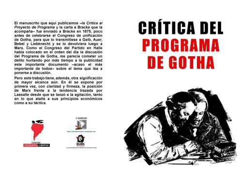 Karl Marx - Crítica al programa de Gotha Libro.190