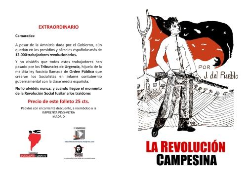 Bujalance. La revolución campesina - Juan del Pueblo - Andalucía 1934 - colección Socialismo y Libertad - formato pdf 200.bujalance