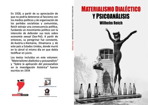 Materialismo Dialéctico y Psicoanálisis - Wilhelm Reich - año 1970 en español - formato pdf 201.tapa_
