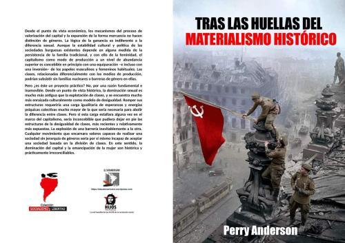Tras las huellas del materialismo histórico - Perry Anderson - conferencias del año 1983 - colección Socialismo y Libertad - formato pdf Libro.204.