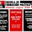 """ESCUELA DE FORMACIÓN POLÍTICA """"Hermanos Vergara Toledo""""(+videos)"""